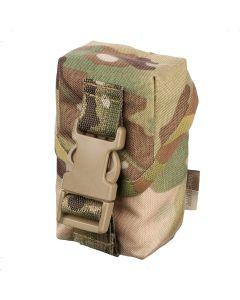 Подсумок для ручной осколочной гранаты  с клапаном на фастексе